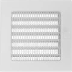 фото Решетка белая 17х17 жалюзи