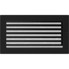 фото Решетка черная 17х30 жалюзи