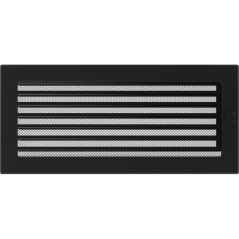 фото Решетка черная 17х37 жалюзи