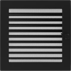 фото Решетка черная 22х22 жалюзи