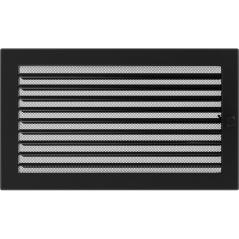 фото Решетка черная 22х37 жалюзи