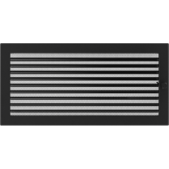 фото Решетка черная 22х45 жалюзи