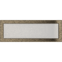 фото Решетка черно-золотая 17х49