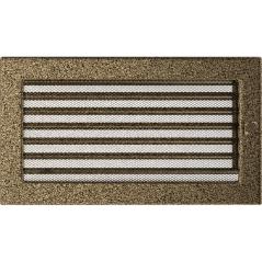 фото Решетка черно-золотая 17х30 жалюзи