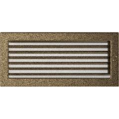 фото Решетка черно-золотая 17х37 жалюзи