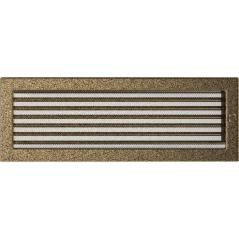 фото Решетка черно-золотая 17х49 жалюзи