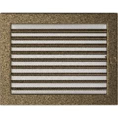 фото Решетка черно-золотая 22х30 жалюзи