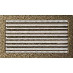 фото Решетка черно-золотая 22х37 жалюзи