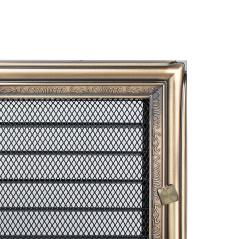 Вентиляционная решетка KRATKI рустикальная 17х37 жалюзи
