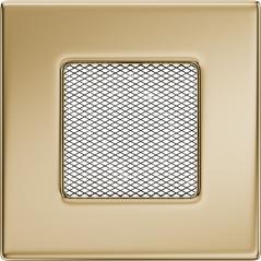 Вентиляционная решетка KRATKI позолота 11Х11