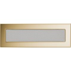 Вентиляционная решетка KRATKI позолота 11Х32