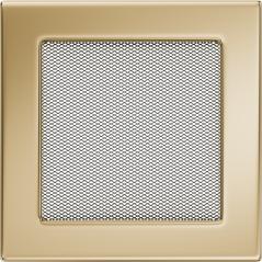 Вентиляционная решетка KRATKI позолота 17Х17