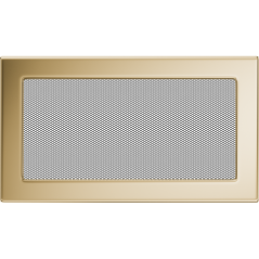Вентиляционная решетка KRATKI позолота 17Х30