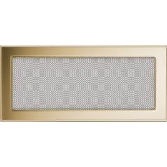 Вентиляционная решетка KRATKI позолота 17Х37