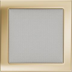 Вентиляционная решетка KRATKI позолота 22Х22