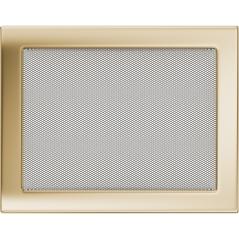 Вентиляционная решетка KRATKI позолота 22Х30