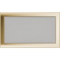 Вентиляционная решетка KRATKI позолота 22Х37