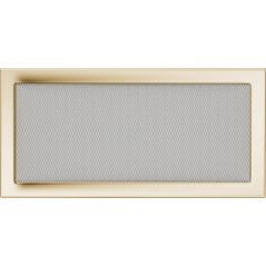 Вентиляционная решетка KRATKI позолота 22Х45