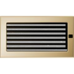 Вентиляционная решетка KRATKI позолота 17Х30 жалюзи