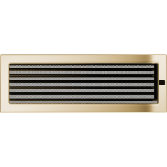 Вентиляционная решетка KRATKI позолота 17Х49 жалюзи