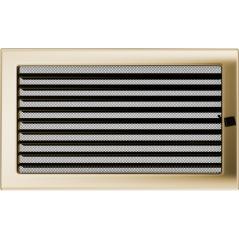 Вентиляционная решетка KRATKI позолота 22Х37 жалюзи