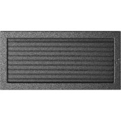 фото Решетка черно-серебряная 22x45 жалюзи