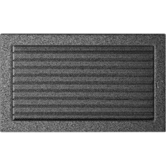 фото Решетка черно-серебряная 22x37 жалюзи