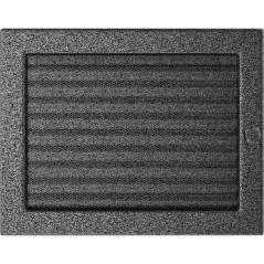 фото Решетка черно-серебряная 22x30 жалюзи