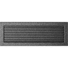 фото Решетка черно-серебряная 17x49 жалюзи