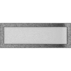 фото Решетка черно-серебряная 17x49