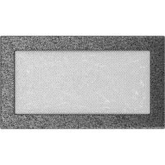 фото Решетка черно-серебряная 17x30