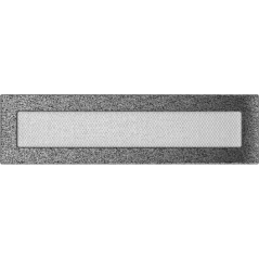 фото Решетка черно-серебряная 11x42