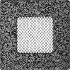 фото Решетка черно-серебряная 11x11