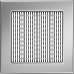 фото Решетка никель 17x17