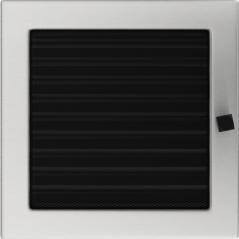 фото Решетка шлифованная 22х22 жалюзи