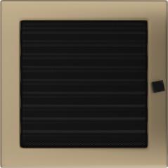 фото Решетка золото гальваническое 22х22 жалюзи
