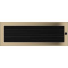 фото Решетка золото гальваническое 17х49 жалюзи