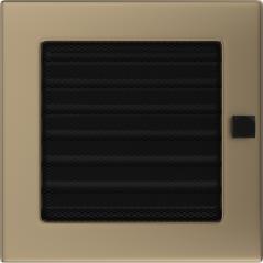 фото Решетка золото гальваническое 17х17 жалюзи