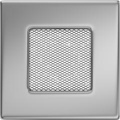 Вентиляционная решетка KRATKI никель 11Х11