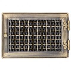 Вентиляционная решетка STYLOWA золотая патина 21х32 жалюзи