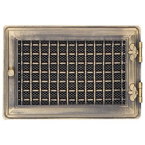 Вентиляционная решетка STYLOWA золотая патина 21х32