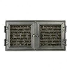 Вентиляционная решетка STYLOWA графит 21х43 жалюзи