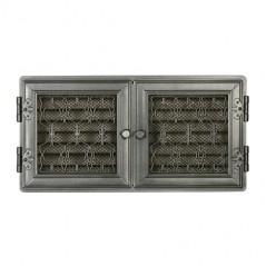 Вентиляционная решетка STYLOWA графит 21х43