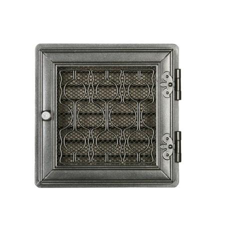 Вентиляционная решетка STYLOWA графит 21х21 жалюзи