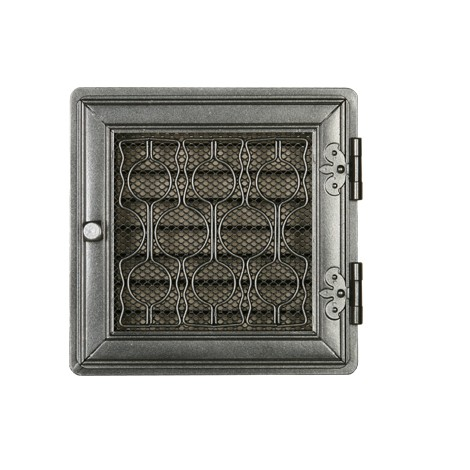 Вентиляционная решетка STYLOWA графит 21х21