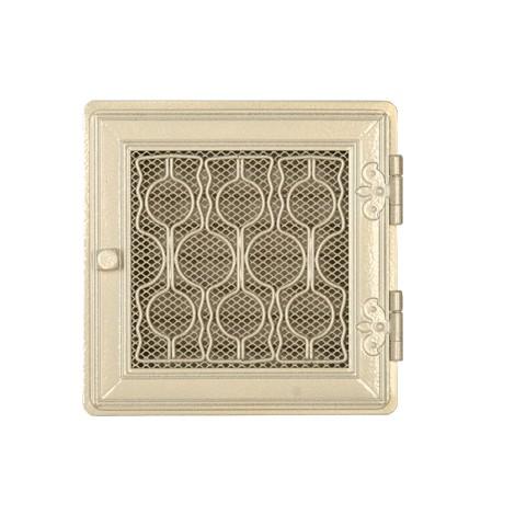 Вентиляционная решетка STYLOWA белая античная 21х21