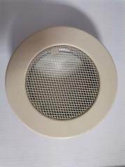 фото Решетка круглая кремовая Ø125