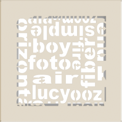 Вентиляционная решетка KRATKI ABC кремовая 17x17