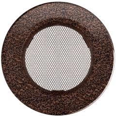 Вентиляционная решетка KRATKI круглая медная Ø100