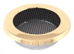 Вентиляционная решетка круглая латунь Ø125
